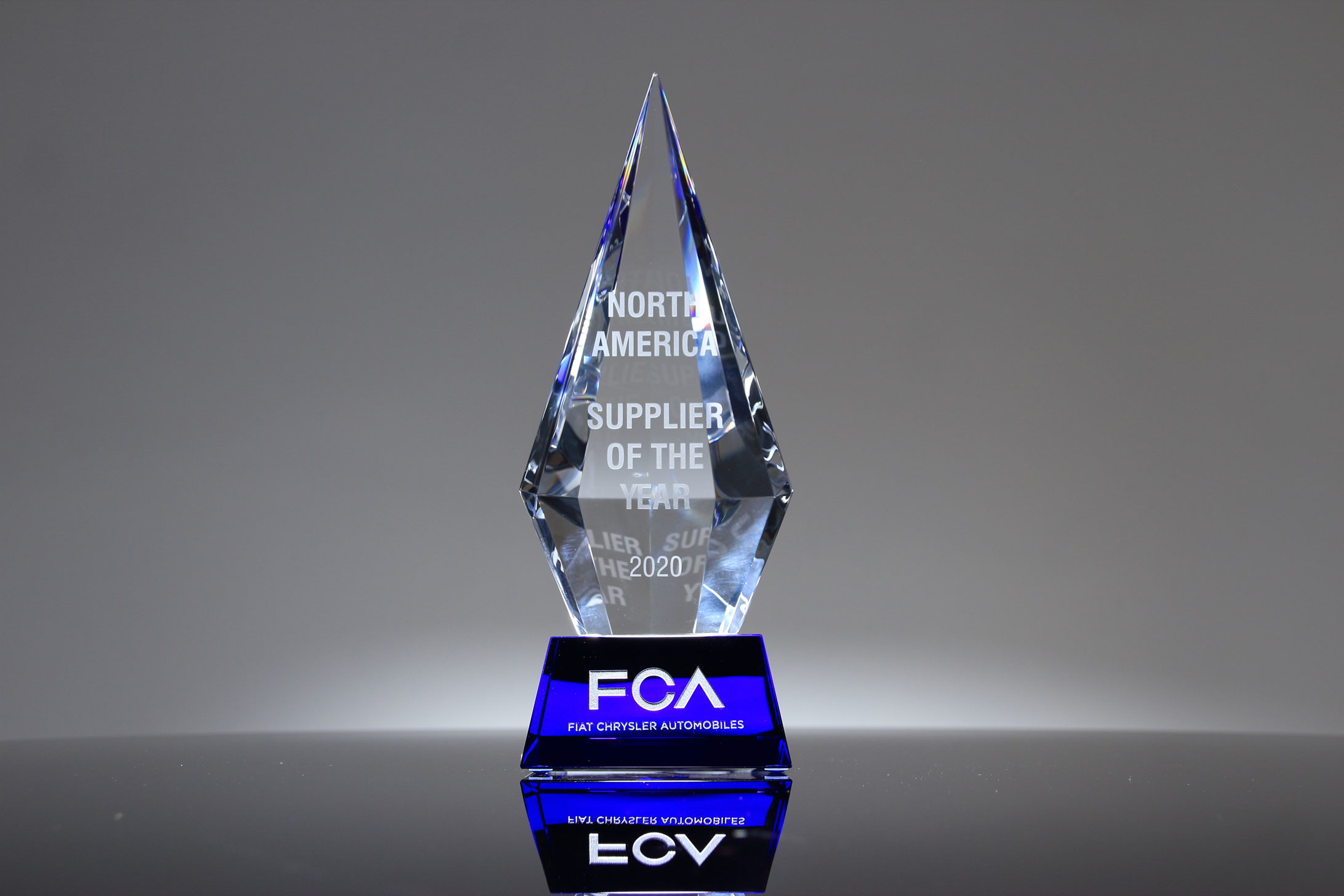 Waterville TG and Toyoda Gosei North America Receives FCA North American 2020 Supplier of the Year Award